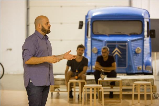 Presentación del espacio de coworking de Barcelona Crec en el networking de Catalyst