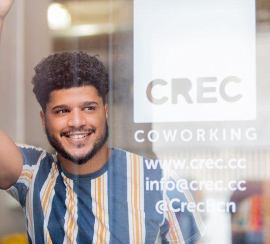 Tino Pérez Community Builder CREC Coworking