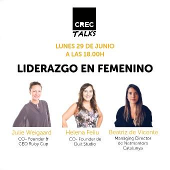 CREC Talks: Liderazgo en femenino