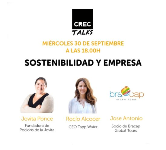 CREC Talks: Sostenibilidad y empresa