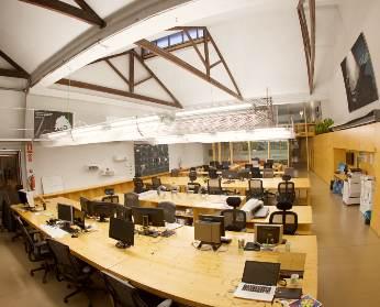 Sala A Oficina CREC Coworking Barcelona