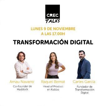 CREC Talks: Transformación Digital Coworking Barcelona