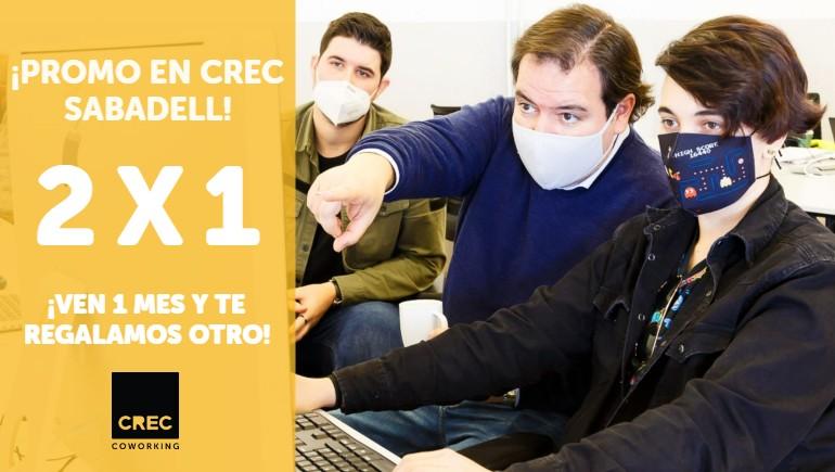 CREC Coworking Barcelona y Sabadell 2x1