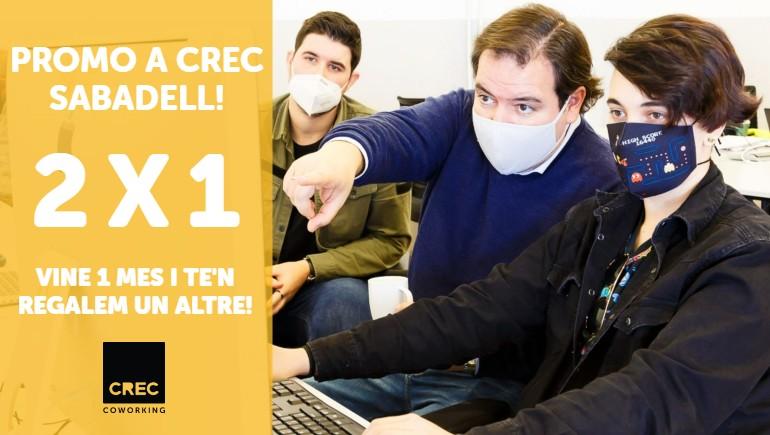 Promoció CREC Sabadell 2x1