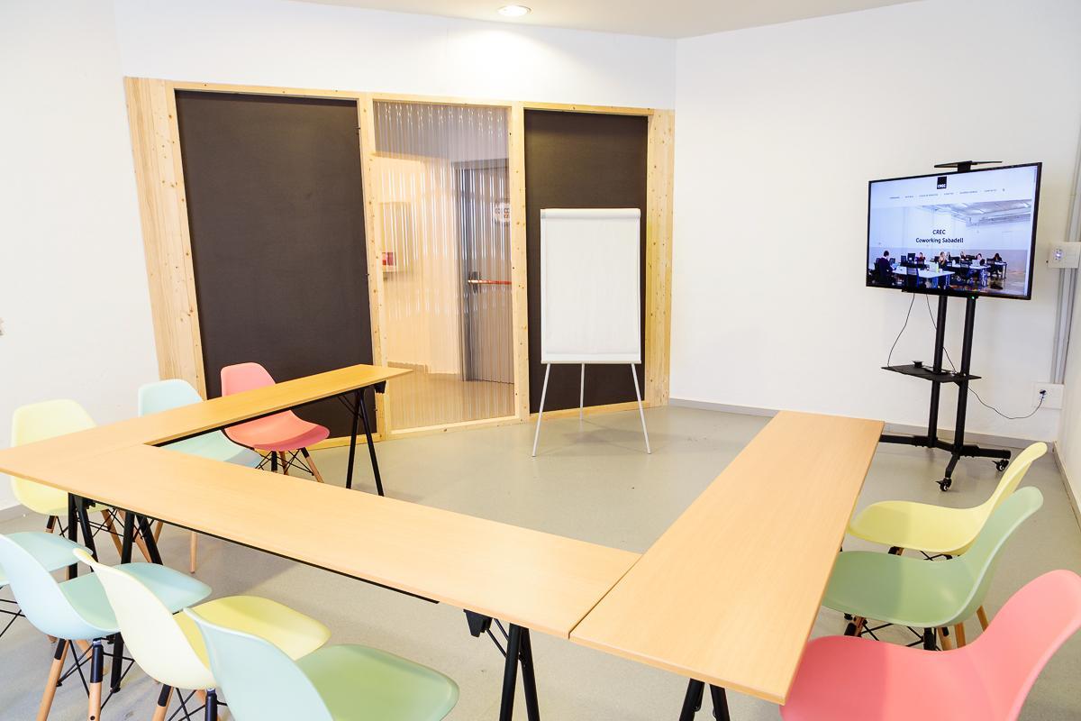 Sala de Reuniones CREC Sabadell