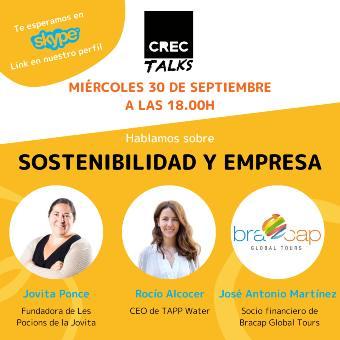 Sostenibilidad y empresa CREC Coworking Barcelona