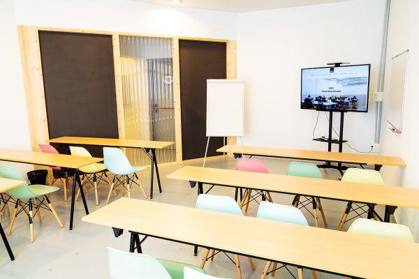 Sala Hawkins Coworking Sabadell