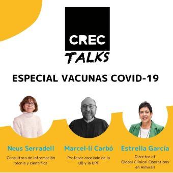 CREC Coworking Barcelona Talks Vacunes