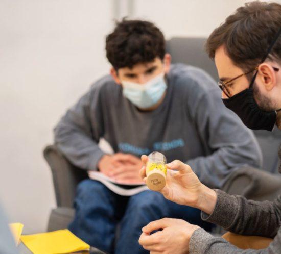 Carlos y Pol, de Haddock, en CREC Coworking Barcelona y Sabadell